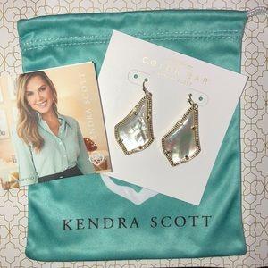 Kendra Scott Alex Earrings Ivory Pearl Stone